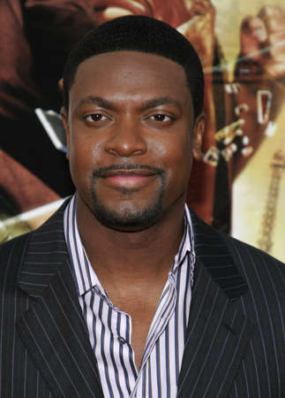 Chris Tucker at the Los Angeles premiere of Rush Hour 3 held at the Graumans Chinese Theater in Hollywood, USA on July 30, 2007.