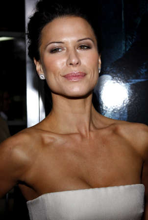 underworld: Rhona Mitra at the World Premiere of Underworld: Rise of the Lycans held at the ArcLight Cinemas in Hollywood, USA on January 22, 2009. Editorial