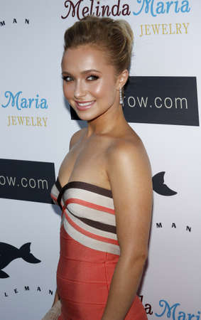 Hayden Panettiere at the Whaleman Foundation Benefit   held at the Beso in Hollywood, California, United States on August 10, 2008.