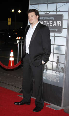 mann: Danny McBride at the Los Angeles Premiere of Up In The Air held at the Mann Village Theater in Westwood, USA on November 30, 2009. Editorial