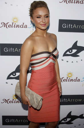 hayden: Hayden Panettiere at the Whaleman Foundation Benefit   held at the Beso in Hollywood, USA on August 10, 2008.
