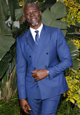 tarzan: Djimon Hounsou at the Los Angeles premiere of The Legend Of Tarzan held at the Dolby Theatre in Hollywood, USA on June 27, 2016. Editorial