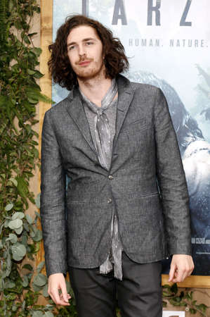 tarzan: Hozier at the Los Angeles premiere of The Legend Of Tarzan held at the Dolby Theatre in Hollywood, USA on June 27, 2016. Editorial
