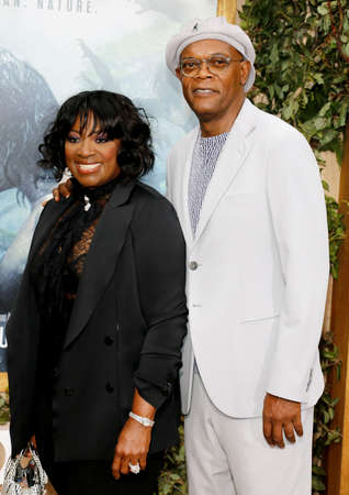 tarzan: Samuel L. Jackson and LaTanya Richardson at the Los Angeles premiere of The Legend Of Tarzan held at the Dolby Theatre in Hollywood, USA on June 27, 2016.
