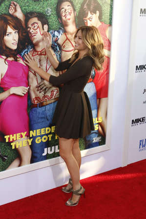 lyn: Sugar Lyn Beard at the Los Angeles premiere of Mike And Dave Need Wedding Dates held at the ArcLight Cinemas in Hollywood, USA on June 29, 2016. Editorial