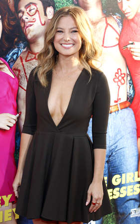 lyn: Sugar Lyn Beard at the Los Angeles premiere of 'Mike And Dave Need Wedding Dates' held at the ArcLight Cinemas in Hollywood, USA on June 29, 2016.