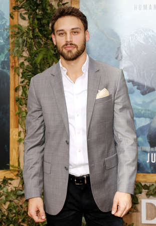 tarzan: Ryan Guzman at the Los Angeles premiere of The Legend Of Tarzan held at the Dolby Theatre in Hollywood, USA on June 27, 2016.