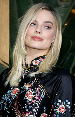 tarzan: Margot Robbie at the Los Angeles premiere of The Legend Of Tarzan held at the Dolby Theatre in Hollywood, USA on June 27, 2016. Editorial