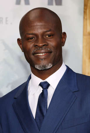 Djimon Hounsou at the Los Angeles premiere of The Legend Of Tarzan held at the Dolby Theatre in Hollywood, USA on June 27, 2016. Editorial