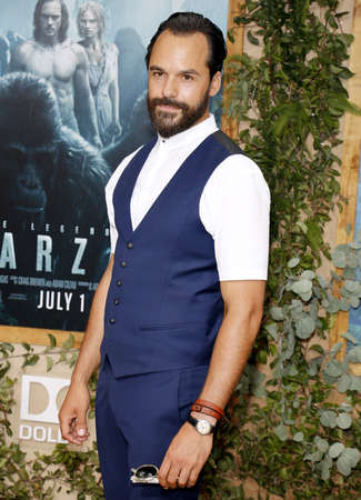 tarzan: Casper Crump at the Los Angeles premiere of The Legend Of Tarzan held at the Dolby Theatre in Hollywood, USA on June 27, 2016.