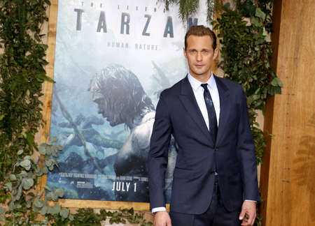 tarzan: Alexander Skarsgard at the Los Angeles premiere of The Legend Of Tarzan held at the Dolby Theatre in Hollywood, USA on June 27, 2016.