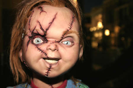 Chucky at the Rocue Pictures red carpet screening of Seed of Chucky at the Grove in Los Angeles, USA on November 10, 2004. Editorial