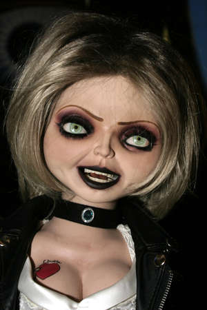 chucky: Tiffany at the Rocue Pictures red carpet screening of Seed of Chucky at the Grove in Los Angeles, USA on November 10, 2004. Editorial
