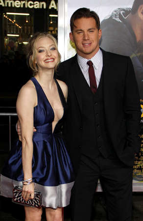 amanda: Amanda Seyfried and Channing Tatum at the World premiere of Dear John held at the Graumans Chinese Theater in Hollywood, USA on February 1, 2010. Editorial