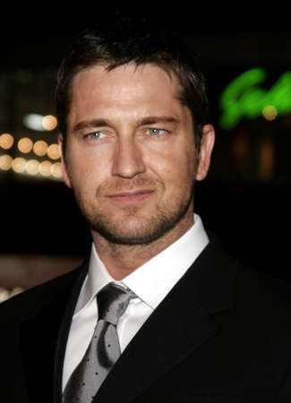 Gerard Butler at the Los Angeles premiere of 300 held at the Graumans Chinese in Hollywood, USA on March 5, 2007.
