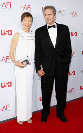 kodak: Warren Beatty and wife Annette Bening at the 36th AFI Life Achievement Award held at the Kodak Theater in Hollywood, USA on June 12, 2008.