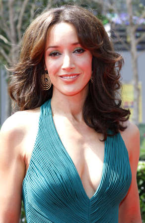 Jennifer Beals at the 2008 Creative Arts EMMY Awards held at the Nokia Theater in Los Angeles, California, United States on September 13, 2008.