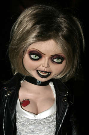 chucky: Character Tiffany at the Rocue Pictures red carpet screening of Seed of Chucky at the Grove in Los Angeles, USA on November 10, 2004. Editorial