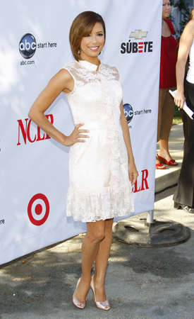 Eva Longoria at the 2008 ALMA Awards Nominees Announcement held at the Wisteria Lane, Universal Studios Back Lot, Hollywood, USA on July 21, 2008.