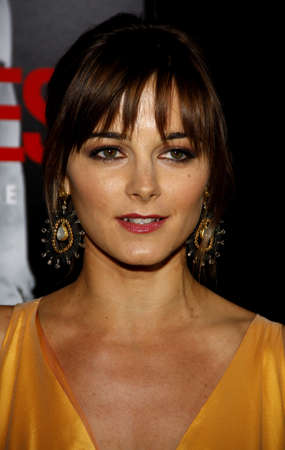 Bojana Novakovic at the Los Angeles premiere of Edge Of Darkness held at the Grauman Chinese Theatre in Hollywood, USA on January 26, 2010.