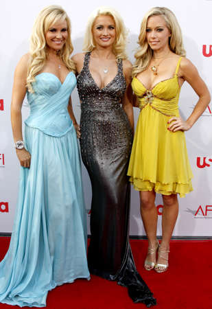 Bridget Marquardt, Holly Madison and Kendra Wilkinson at the 36th AFI Life Achievement Award held at the Kodak Theater in Hollywood, California, United States on June 12, 2008.