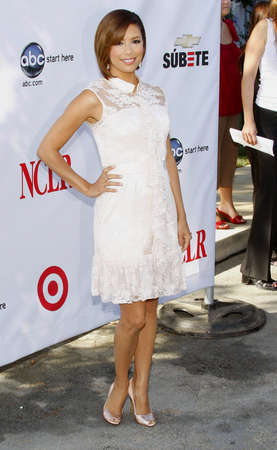 Eva Longoria at the 2008 ALMA Awards Nominees Announcement held at the Wisteria Lane, Universal Studios Back Lot in Hollywood, USA on July 21, 2008. Editorial