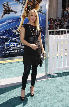 Christina Applegate at the Los Angeles premiere of Cats And Dogs 2 held at the Graumans Chinese Theater in Hollywood, USA on July 25, 2010.