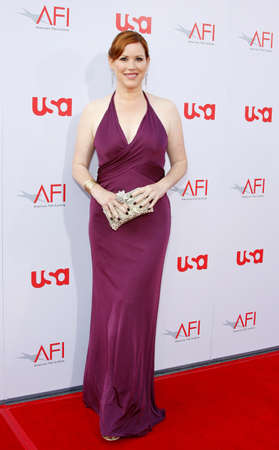Molly Ringwald at the 36th AFI Life Achievement Award held at the Kodak Theater in Hollywood, USA on June 12, 2008. Editorial