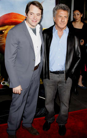 Dustin Hoffman and Matthew Broderick at the World premiere of