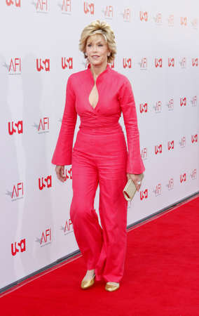 Jane Fonda at the 36th AFI Life Achievement Award held at the Kodak Theater in Hollywood, California, United States on June 12, 2008. Editorial