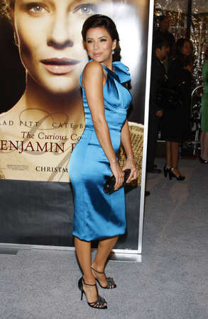 Eva Longoria at the Los Angeles premiere of The Curious Case Of Benjamin Button held at the Manns Village Theater in Westwood, USA on December 8, 2008. Editorial