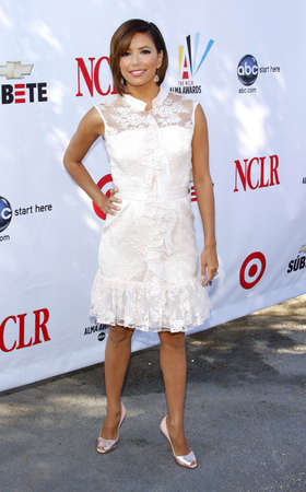 Eva Longoria at the 2008 ALMA Awards Nominees Press Conference held at the Wisteria Lane, Universal Studios Back Lot in Hollywood, California, United States on July 21, 2008. Editorial