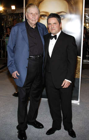 redstone: Sumner Redstone and  Brad Grey at the Los Angeles premiere of The Curious Case Of Benjamin Button held at the Manns Village Theater in Westwood, USA on December 8, 2008.