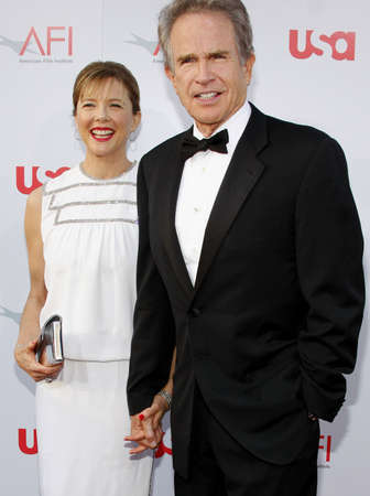 warren: Warren Beatty and Annette Bening at the 36th AFI Life Achievement Award held at the Kodak Theater in Hollywood, California, United States on June 12, 2008.