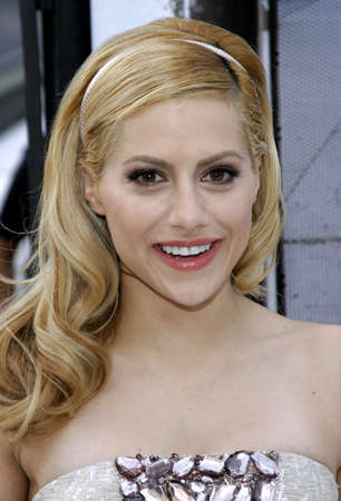 Brittany Murphy at the World premiere of 'Happy Feet' held at the Grauman's Chinese Theatre in Hollywood, USA on November 12, 2006.