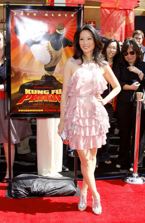 liu: Lucy Liu at the Los Angeles premiere of Kung Fu Panda held at the Graumans Chinese Theater in Hollywood, California United States on June 1, 2008. Editorial