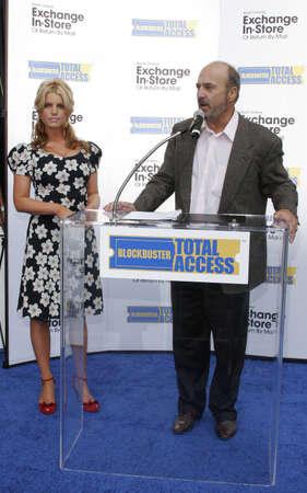 Jessica Simpson and Blockbuster Launch Blockbuster Total Access held at the Kodak Theatre inHollywood, California, United States on November 2, 2006.
