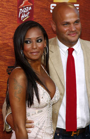 Stephen Belafonte and Mel B at the Spike TV 2nd Annual Guys Choice Awards held at the Sony Pictures Studios in Culver City, California, United States on May 30, 2008. Editorial