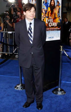 myers: Mike Myers at the Los Angeles premiere of The Love Guru held at the Graumans Chinese Theater in Hollywood, California, United States on June 11, 2008.