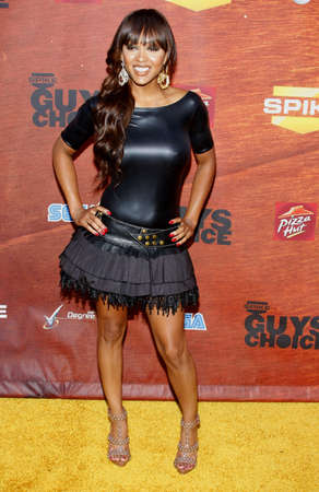 Megan Good at the Spike TVs 2nd Annual Guys Choice Awards held at the Sony Pictures Studios in Culver City, California, United States on May 30, 2008.