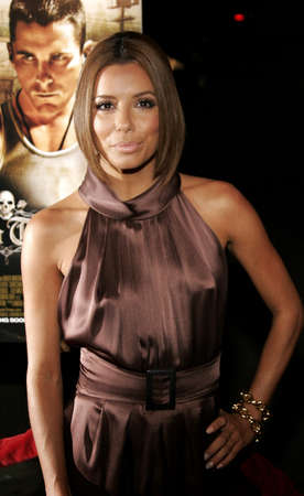 Eva Longoria at the Los Angeles premiere of Harsh Times held at the Crest Theater in Westwood, California, United States on November 5, 2006.