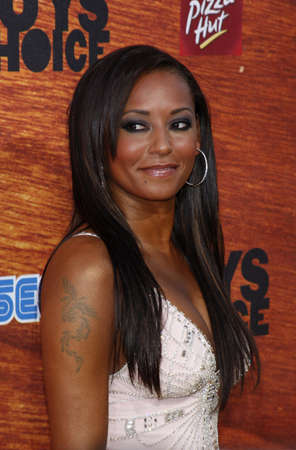 Mel B at the Spike TVs 2nd Annual Guys Choice Awards held at the DSony Pictures Studios in Culver City, California, United States on May 30, 2008.