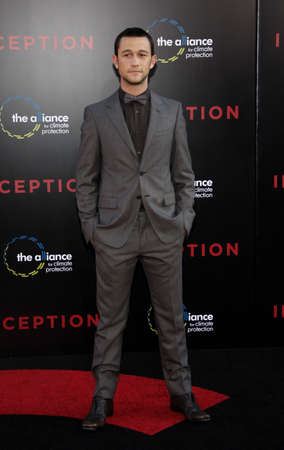 Joseph Gordon-Levitt at the Los Angeles premiere of Inception held at the Graumans Chinese Theatre in Hollywood, USA on July 13, 2010. Editorial