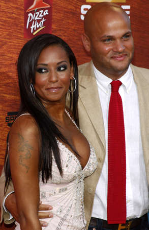 Mel B and Stephen Belafonte at the Spike TVs 2nd Annual Guys Choice Awards held at the Sony Pictures Studios in Culver City, USA on May 30, 2008.