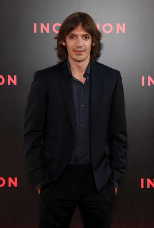 Lukas Haas at the Los Angeles premiere of Inception held at the Graumans Chinese Theatre in Hollywood, USA on July 13, 2010. Editorial