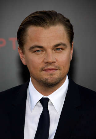 Leonardo DiCaprio at the Los Angeles premiere of 'Inception' held at the Grauman's Chinese Theatre in Hollywood, USA on July 13, 2010.