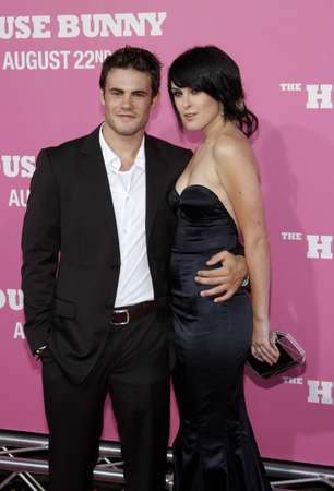 willis: Rumer Willis and Micah Alberti at the Los Angeles premiere of The House Bunny held at the Mann Village Theater in Westwood, USA on October 13, 2008. Editorial