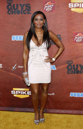 Mel B at the Spike TV 2nd Annual Guys Choice Awards held at the Sony Pictures Studios in Culver City, California, United States on May 30, 2008. Banco de Imagens - 86346633