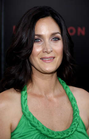 Carrie-Anne Moss at the Los Angeles premiere of Inception held at the Graumans Chinese Theatre in Hollywood, USA on July 13, 2010. Editorial