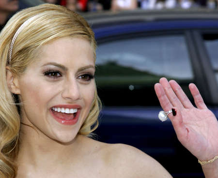 Brittany Murphy at the World Premiere of Happy Feet held at the Graumans Chinese Theatre in Hollywood, USA on November 12, 2006.